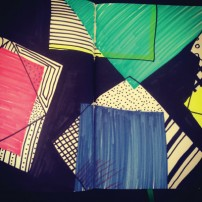 Sam Osborne Sketchbooks Geometric Pattern
