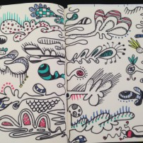 Sam Osborne Sketchbooks - Organic Pattern Sketch
