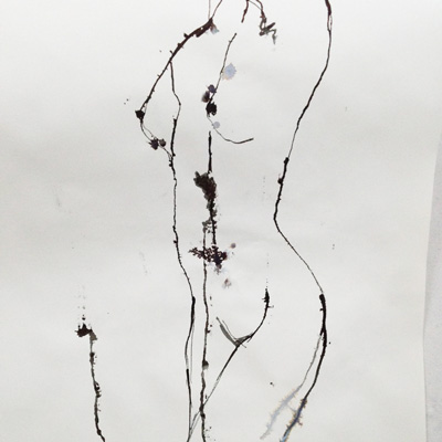 Sam Osborne Figure Drawing Ink Line