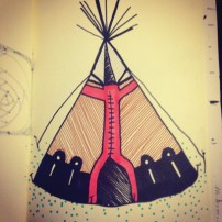 Sam Osborne Sketchbooks - Tipi
