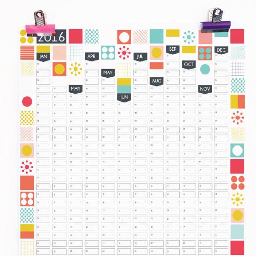 2016-Mid-Century-Modern-Wall-Planner-Calendar