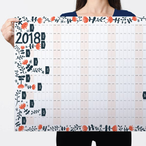 2018-Wall-Planner-Retro-Floral