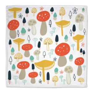 Forest Mushrooms Napkins