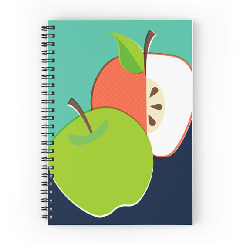 Apple Illustration Note Book