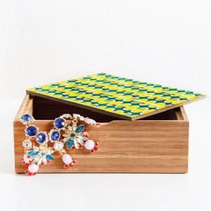 Bamboo Jewellery Keepsake Box