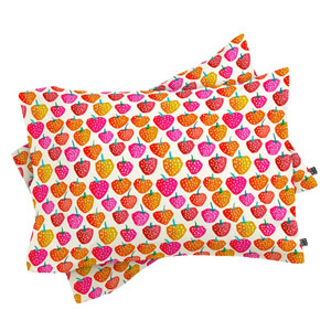 Bold-Strawberries-Pillow-Covers