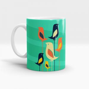 Mid-Century-Bird-Mug