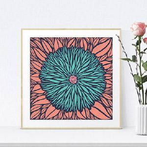 Sam-Osborne-Pink-Floral-Fine-Art-Print