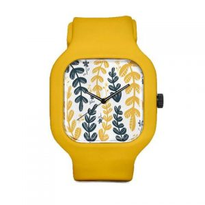 Sam Osborne Yellow Leaves Sports Watch