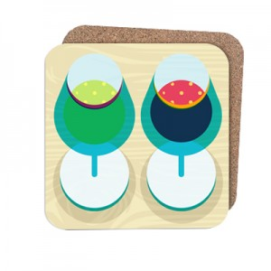 Wondercook Wine Coasters Sam Osborne