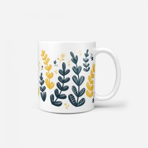 Yellow-Leaves-Mug-Plain-BG