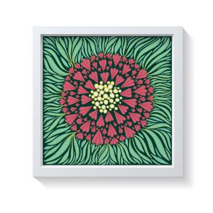 Sam Osborne Bold Floral Wall Art Print