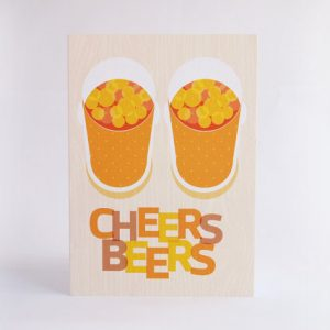 Cheers Beers Birthday Card