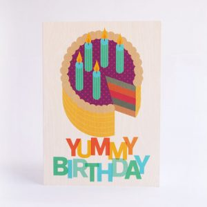 Yummy Birthday Card