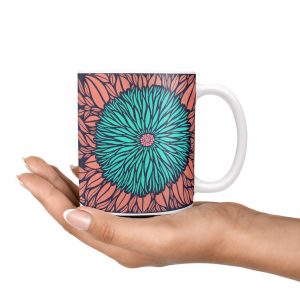 Floral Mug, Gift for her, Coffee Mug