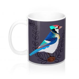 Cool Bird Mug, Gift for Him, Nature Mug, Coffee Mug
