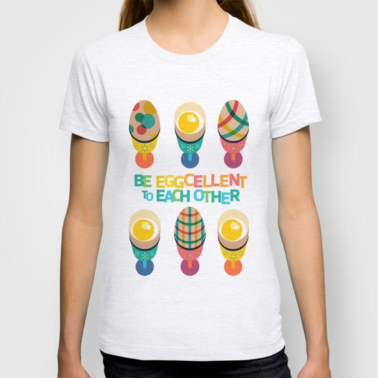 Easter Egg Illustrated T-Shirt