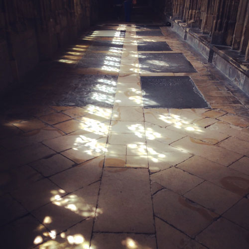 Gloucester Cathedral Cloisters Light