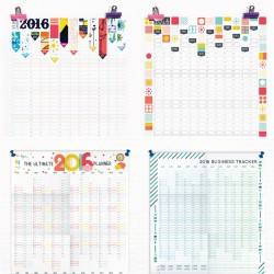2016 wall planner calendars Sam Osborne