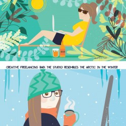 Creative Freelancing Tips Summer Winter Sam Osborne