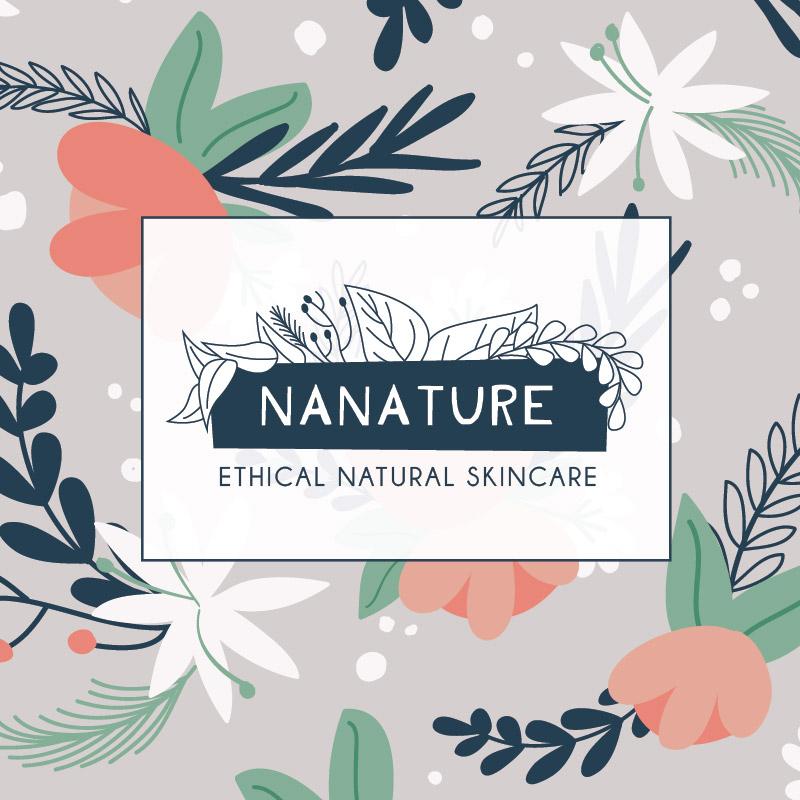 Ethical Skincare Company Branding Design Illustration
