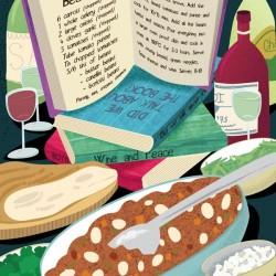 Food Recipe Illustration Book Club Bean Stew