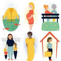WI LIfe Editorial Magazine Vignette Illustrations Sam Osborne