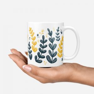 Yellow-Leaves-Mug-Hand-Under