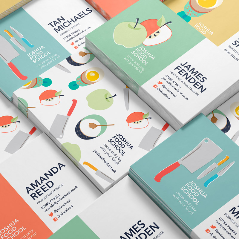 Joshua Food School Illustration and Graphic Design Square