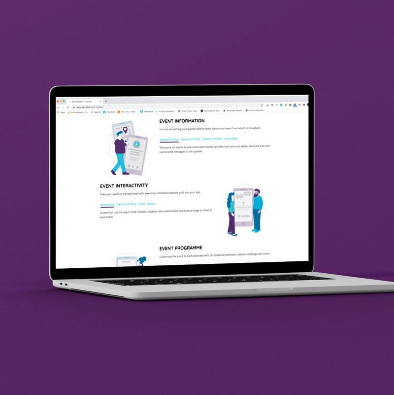 Technology Branding Illustrations Website