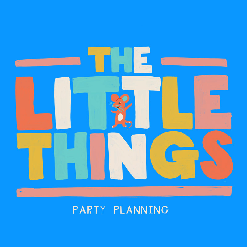 The Little Things Branding Lettering Illustration