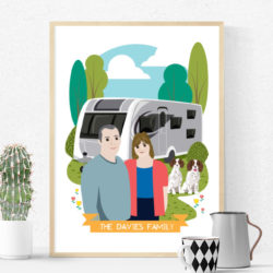 Custom-Family-Pet-Portrait-Illustration-Gift-Idea