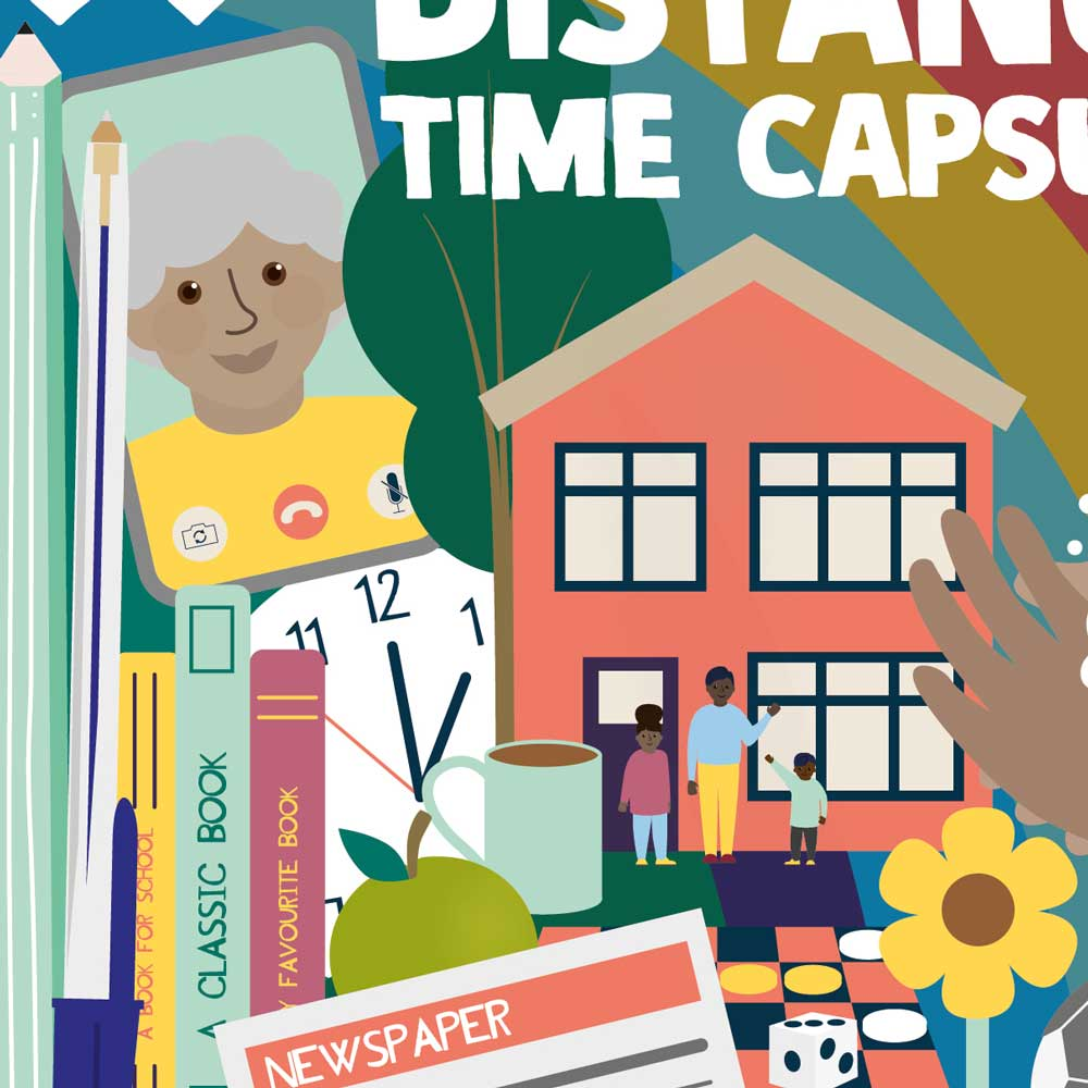 Time Capsule Cover Illustration Detail
