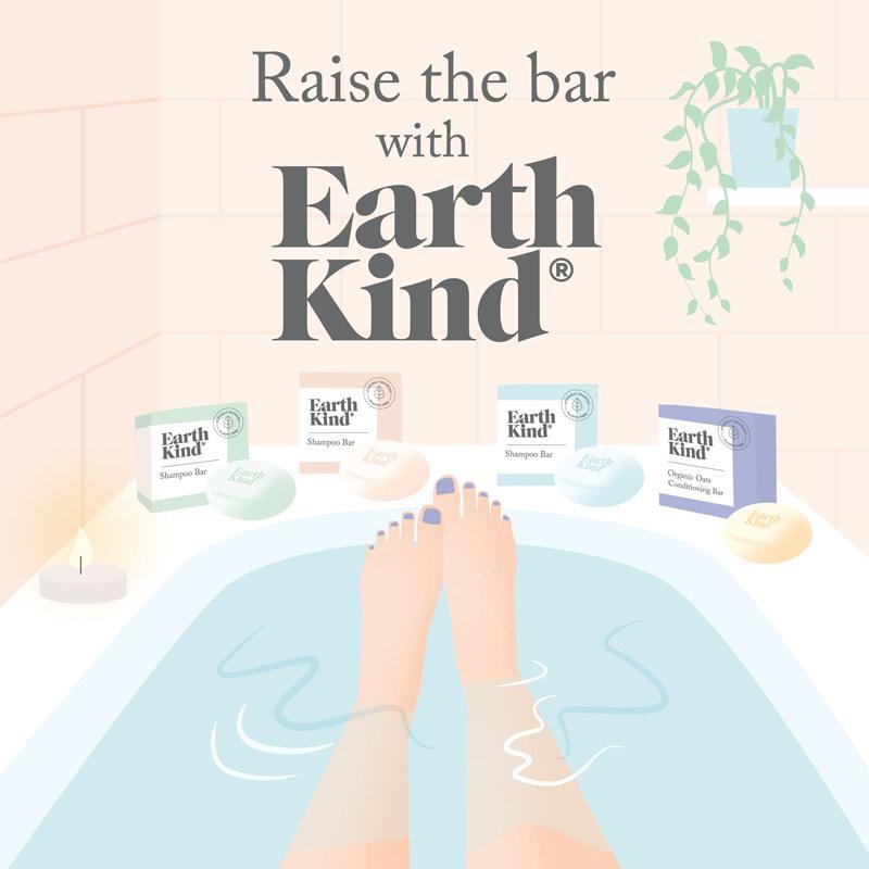 Earth Kind Bath Brand Illustration