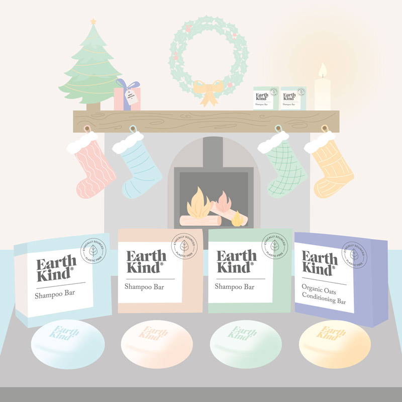 Earth Kind Christmas Gifts Illustration