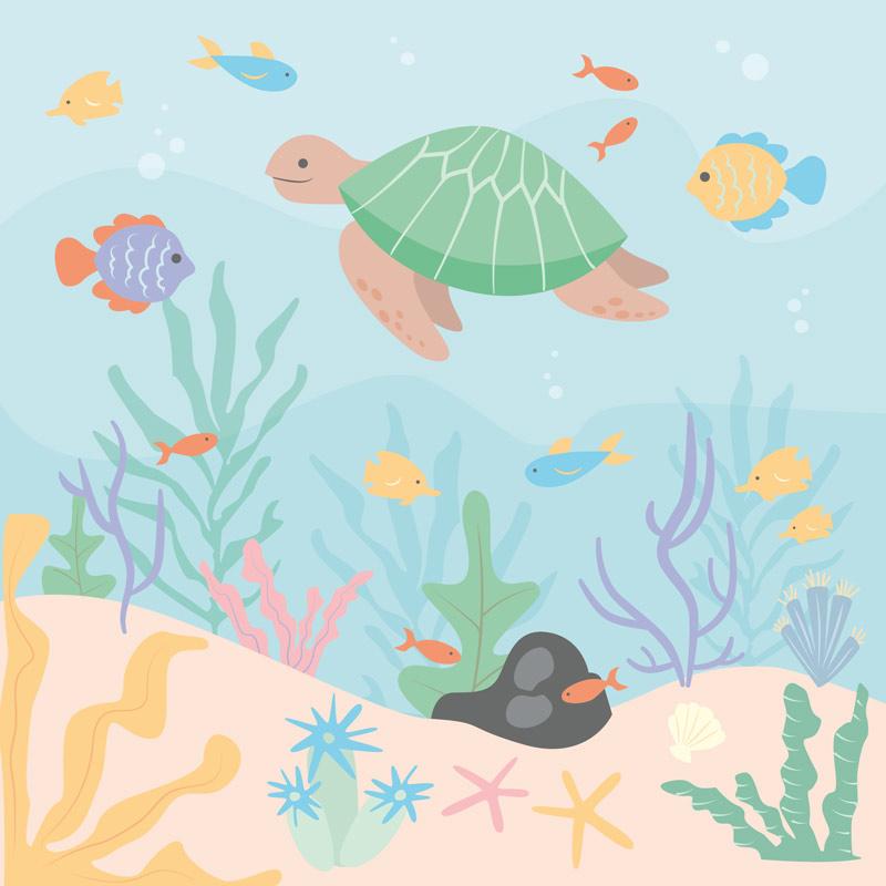 Earth Kind Ocean Illustration