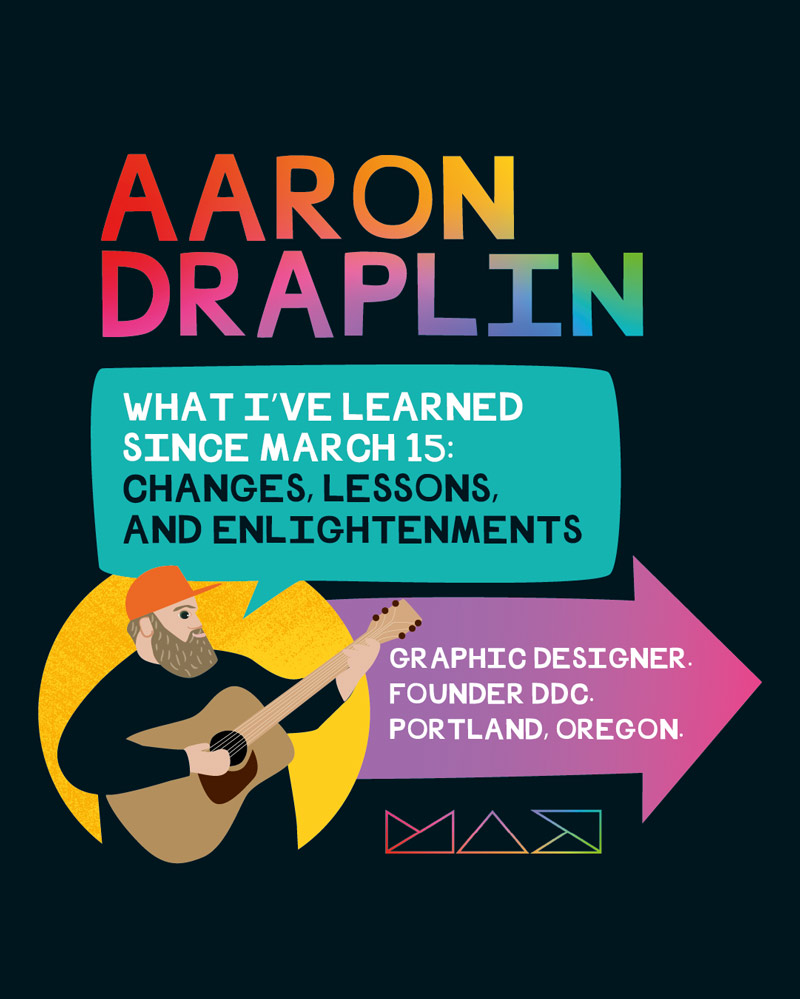 Adobe Max CoCreate Aaron Draplin Visual Notes Illustration