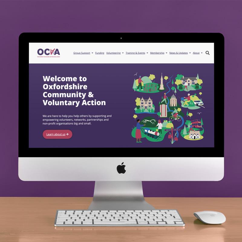 OCVA Website Illustration