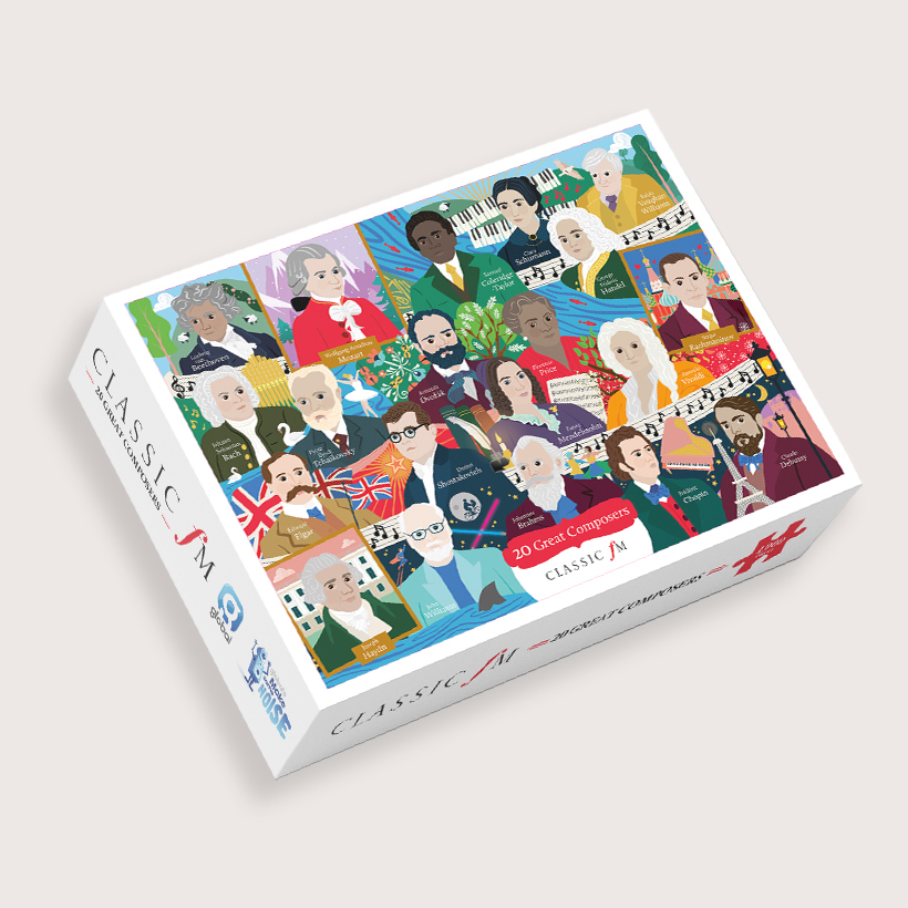 Classic FM Great Composer Jigsaw Puzzle Box