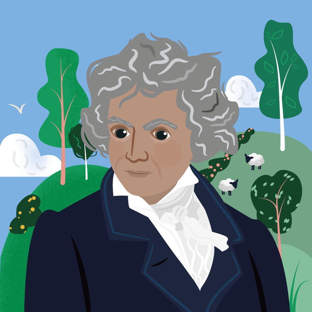 Beethoven portrait Classic FM Hall of Fame